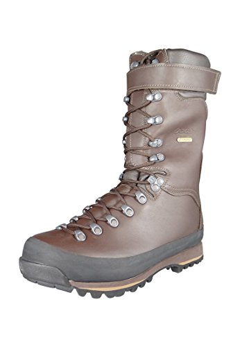 AKU stivali da caccia stivali da caccia Jager High Top Marrone Marrone Marrone 916-050, Groesse:43 (9 uk)