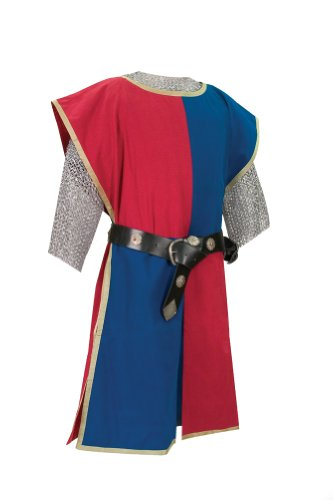 Knightly Tabard: Knight Costume(Red/Blue) - Halloween Costumes