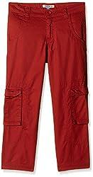 People Boys Trouser (P30502046029825_Maroon_3 - 4 years)