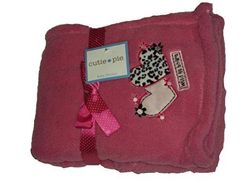 Cutie Pie Baby Blanket Pink Wild At Heart