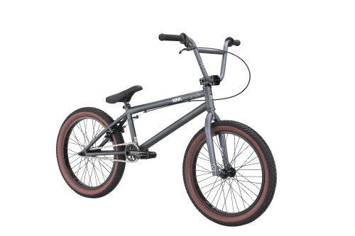 Kink 2012 Transition BMX Bike (Gray, 20.75-Inch)