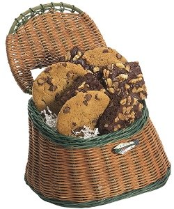 Gourmet Cookie Fish Basket (Gourmet,Abernook,Gourmet Food,Cookies,Chocolate-Chip Cookies)