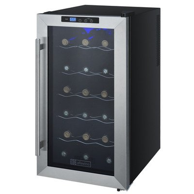 18 Bottle Thermoelectric Wine Refrigerator (Fridge 11 compare prices)