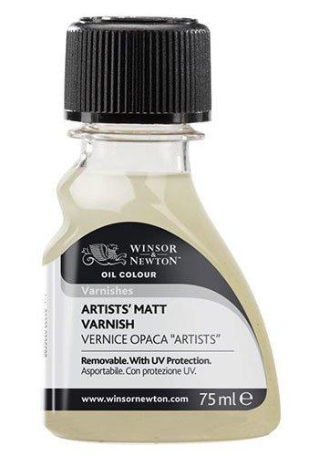 Artist Matt Varnish WINSOR & NEWTON - 75 ml Bottle