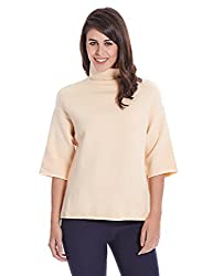 bYSI Womens Wool Sweater (70092_Peach_12)