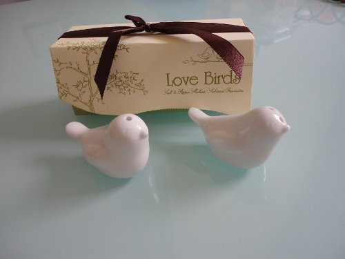 40pcs=20sets Love Bird Salt & Pepper Shakers Wedding Party Favor Gift