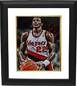 Clyde Drexler Autographed Hand Signed Portland Trail Blazers 16x20 Photo Custom... by Hall of Fame Memorabilia