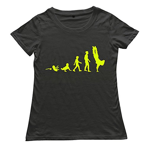 Shes Make Evolution Breakdance Shirt For Ladies
