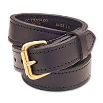 Filson 1 1/2 inch Leather Double Belt Brown (32)
