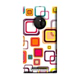 Garmor Seamless Colorful Design Plastic Back Cover For Nokia Lumia 830 (Seamless Colorful - 4)