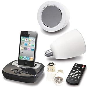 L 2015 sans fil Lumière Bulb Parleur Système Avec iPod Accueil Station