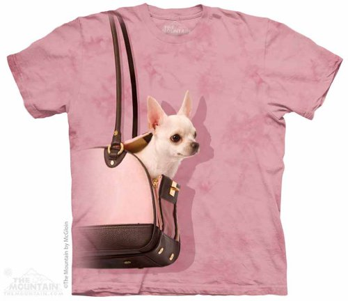 Handbag Chihuahua The Mountain Adult T-Shirt