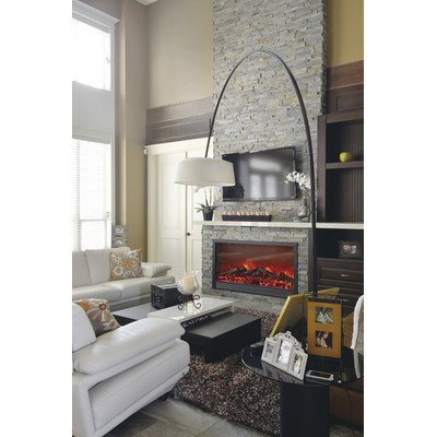 """55.5"""" Led Electric Fireplace Insert"""