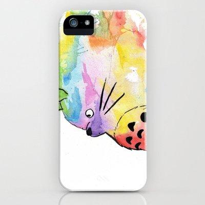 Society6/ソサエティシックス iphone5ケース  となりのトトロ ジブリ My Rainbow_Totoro