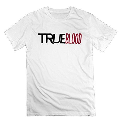 Graphic Design Colleges Vintage Man's True Blood White Tshirts