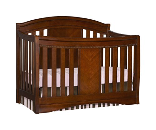 Simmons Slumber Time Elite 4-in-1 Convertible Kids Crib, Espresso Truffle - 1