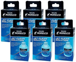Norelco Hq200 Hq-200 Jet Clean 6 Pack For Smart Touch