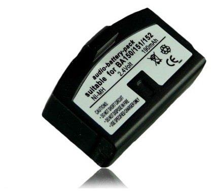 M&L Mobiles® | BATTERIA BA-150 / BA-151 PER Sennheiser A200 HDI | 302 | 380 | HDR4 | HDR6 | HDR30 | HDR40 | HDR54 | IS150 | IS300 | IS380 | RS4 | RS5 | RS6 | RS8 | RS30 | RS40 | RS60 | RS80 | RS400 | RS2400 | SET250 | SET500 | SET50 TV | SET2500 | INFRARED HEADPHONES TI 380 BA-150 BA-151