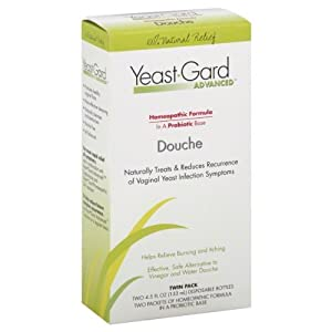 Probiotic douche yeast infection naturally