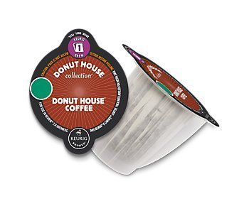 Donut House Coffee Keurig 2.0 Carafe Pods, 8 Count (Carafes K Cups compare prices)