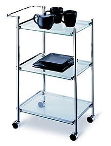 Organize It All 3-Tier Rectangular Serving Cart by Organize It All