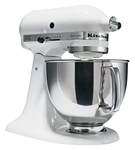 KitchenAid Artisan Series Mixers, 5-Quart, (Certified Refurbished)