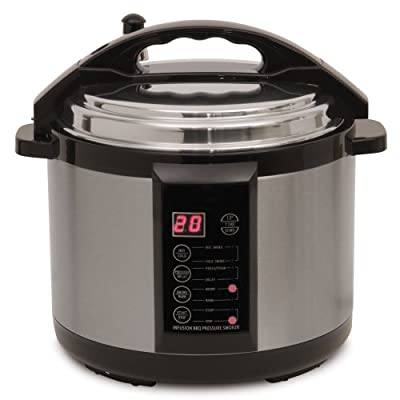 Emson Electric Indoor Pressure Smoker 7 Qt