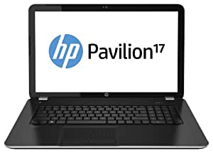 "HP 17-e040sf Ordinateur Portable 17"" (43,18 cm) AMD Quad-Core A4-5000M 1,5 GHz 750 Go 4 Go AMD Radeon HD 8330 Windows 8 Noir"