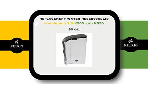 Replacement Water Reservoir for Keurig 2.0 K500 and K550 - 80-oz. (Keurig Water Reservoirs compare prices)