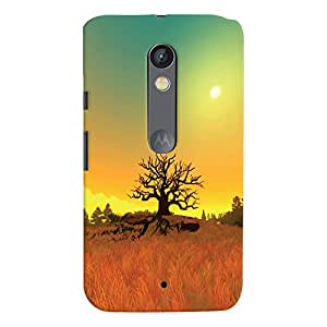 ColourCrust Motorola Moto X Play Mobile Phone Back Cover With Beautiful Landscape - Durable Matte Finish Hard Plastic Slim Case