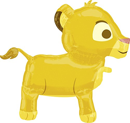 Anagram International Simba Balloon Buddy Air Walker, Multi-Color