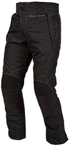 Milano Sport Motorcycle Sport Pant (Black, XX-Large)