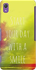 DailyObjects Start Your Day With A Smile Case For Sony Xperia Z2