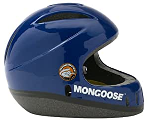 Mongoose Child Full Face Bike Helmet (Colors May Vary, Blue or Black)