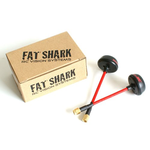 5.8GHz Fatshark spiroNET Antenna Set Cloverleaf and SPW - FPV 5.8