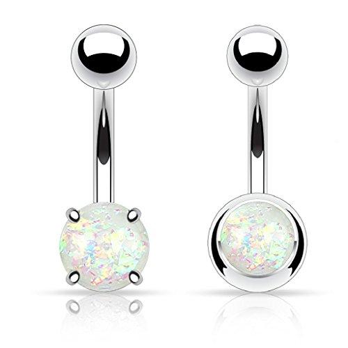 colore-trasparente-con-glitter-colore-bianco-opale-bally-anelli-per-2-pezzi