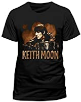 Keith Moon The Who Drummer Legend OFFICIAL Unisex T-Shirt