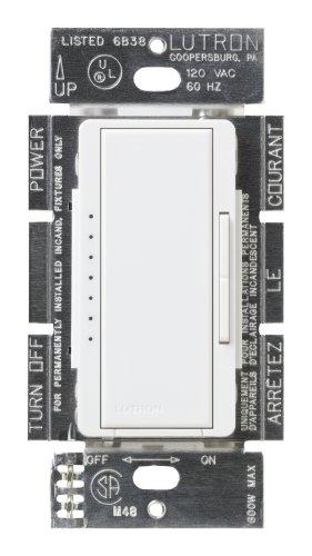 Lutron Msc-600M-Sw Maestro 600-Watt Multi-Location Dimmer Snow