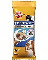Pedigree DentaStix Dog Chews Medium Dog (Pack of 10, Total 70 Sticks)