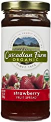 Cascadian Farm Organic Fruit Spread -…