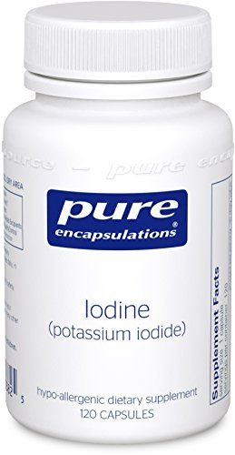 Pure Encapsulations – Iodine (potassium iodide) – 120 VegiCaps (Premium Packaging)