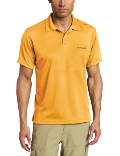 Columbia Men'S Big New Utilizer Polo, Summer Orange, 1X