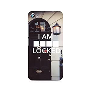 Ebby Sher Lock Premium Printed Case For Micromax Canvas Fire 4 A107