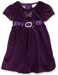 So La Vita Velvet Dress   Infant, Purple, 24 Months