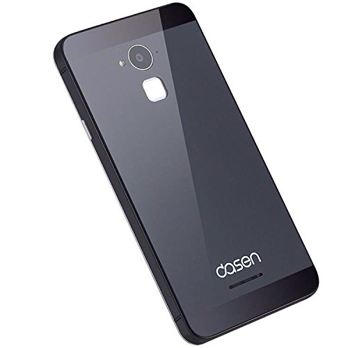 hot sale online 5a9ad 69df8 BOUNCEBACK*GLASS +ALUMINIUM *Back Replacement Cover/Panel For*Coolpad Note  3/Note 3 Plus 5.5 inch-Grey Black