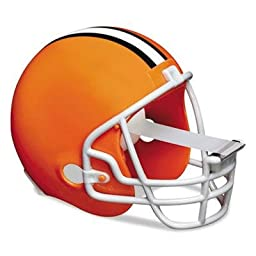 Scotch - 3 Pack - Nfl Helmet Tape Dispenser Cleveland Browns Plus 1 Roll Tape 3/4\