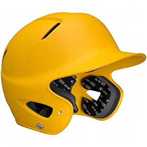 Buy Easton Senior Natural Grip Batting Helmet, Gold by Easton