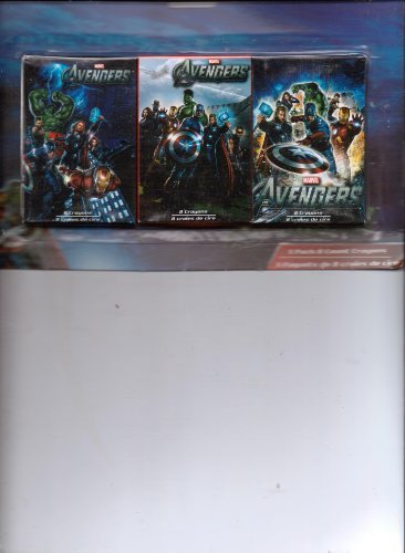 Marvel Avengers 3-pack 8-count Crayons