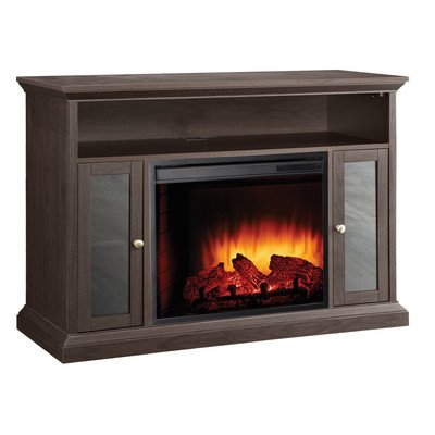 Pleasant Hearth 23-Inch Riley Espresso Media Electric Fireplace