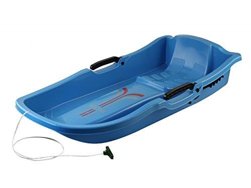 Luge-pazer-Bleu-avec-frein-rflecteur-tiquette